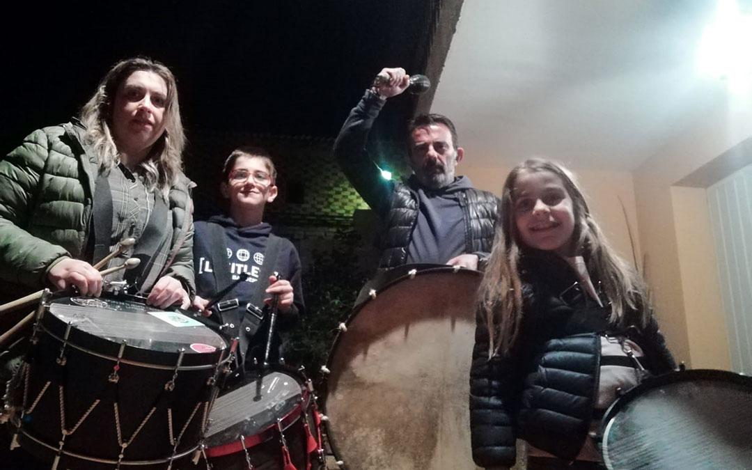 La Puebla de Híjar. Selfie tras Romper la Hora.