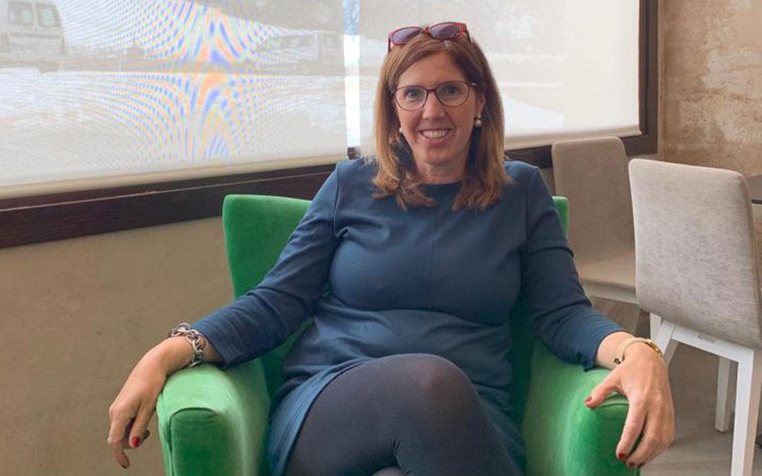 Lola Oriol, directora del Colegio Público de Educación Especial Gloria Fuertes./ L.O.