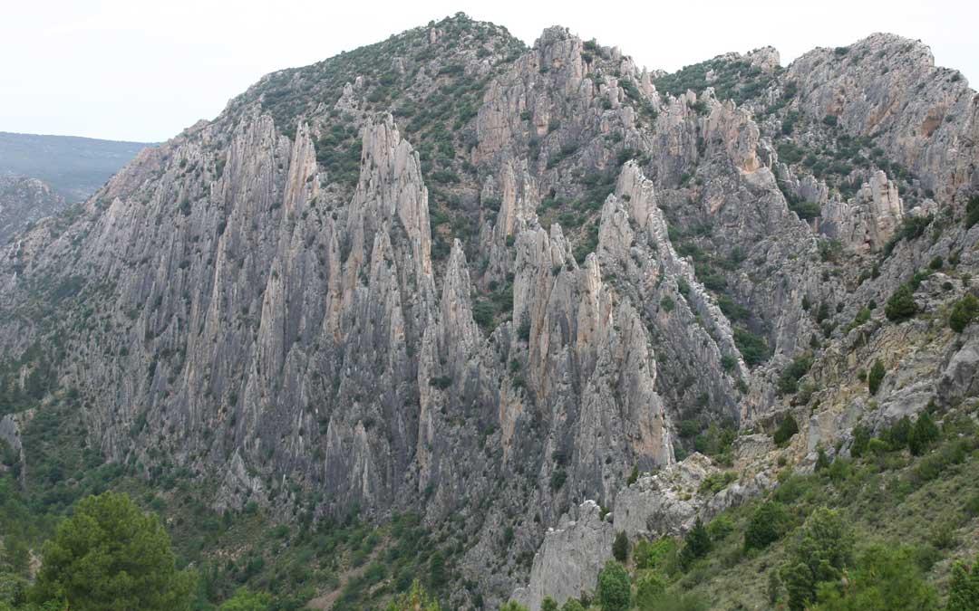 Los Órganos de Montoro son uno de los puntos de obligada visita del Parque Cultural del Maestrazgo