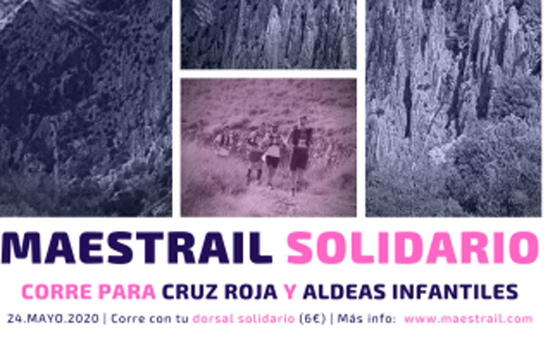 Cartel del Maestrail Solidario./LACOMARCA