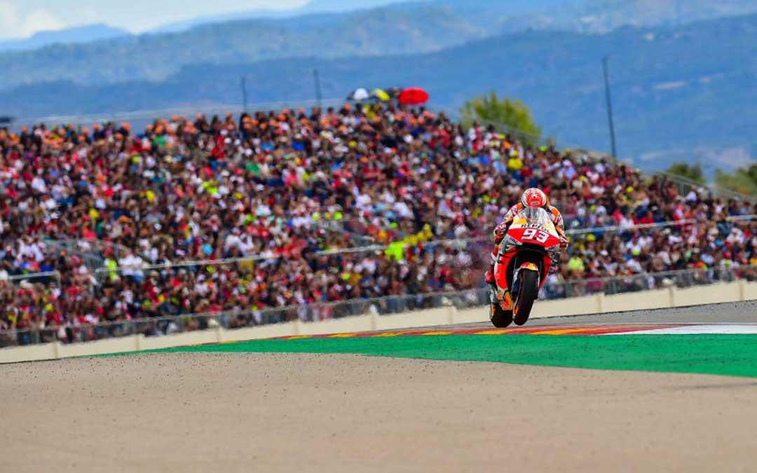 El último mundial de MotoGP celebrado en Motorland./ L.C.