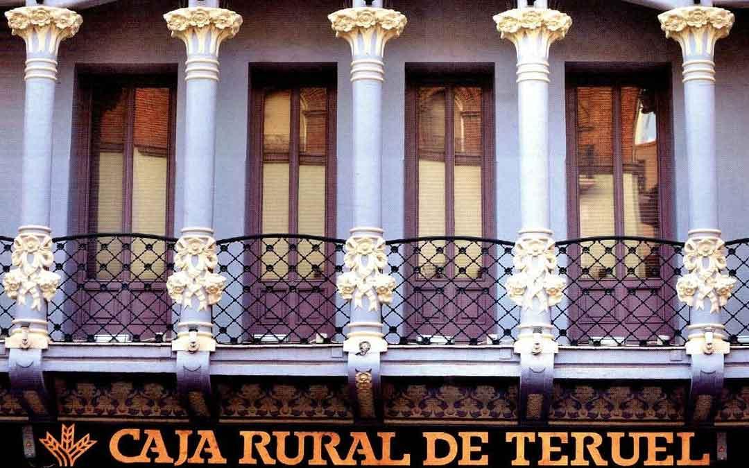 Oficina de Caja Rural de Teruel en la capital de la provincia-teruel