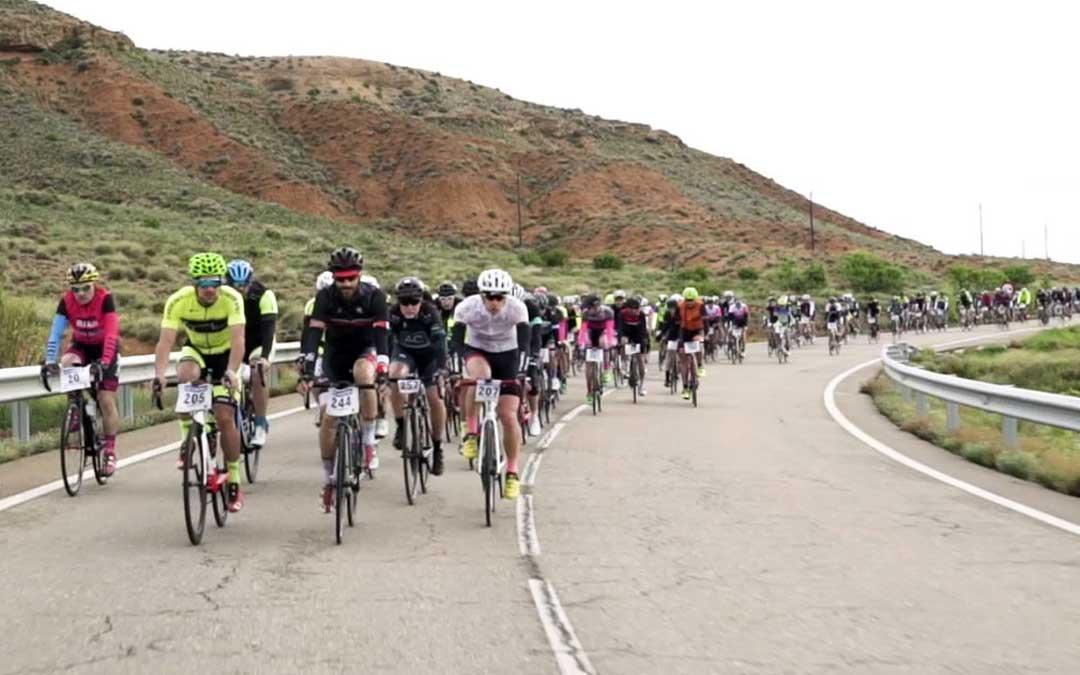 Participantes en la Sesé Bike Tour celebrada el pasado año