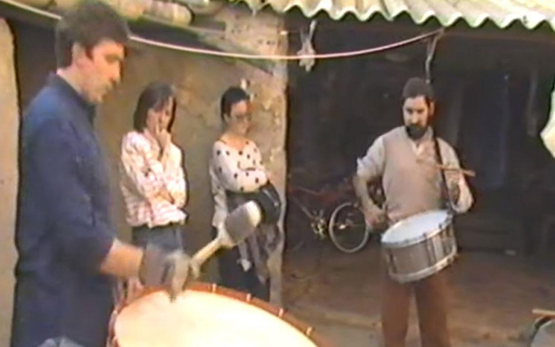 Una de las imágenes que se pueden ver en el documental de 1987.
