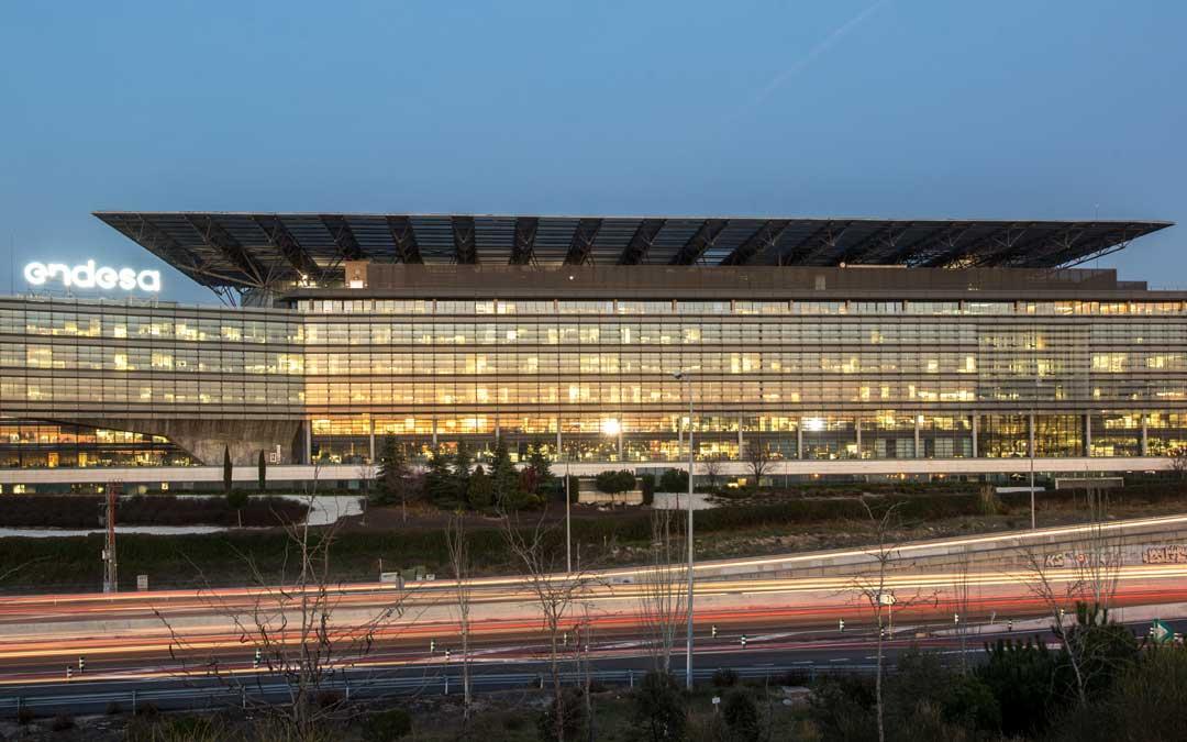 La sede que la compañía Endesa tiene en Madrid