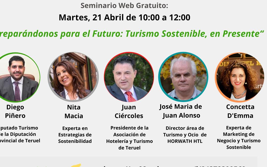 Cartel del seminario del próximo 21 de abril./DPT