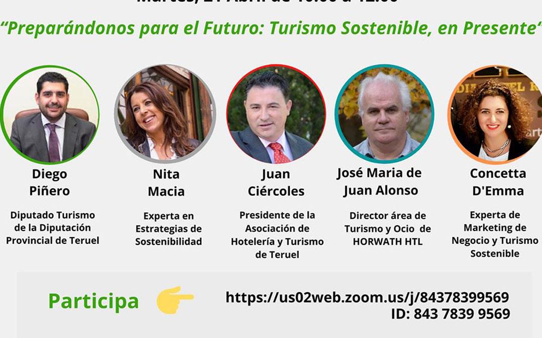 Cartel con los participantes en el seminario de formación turística./DPT