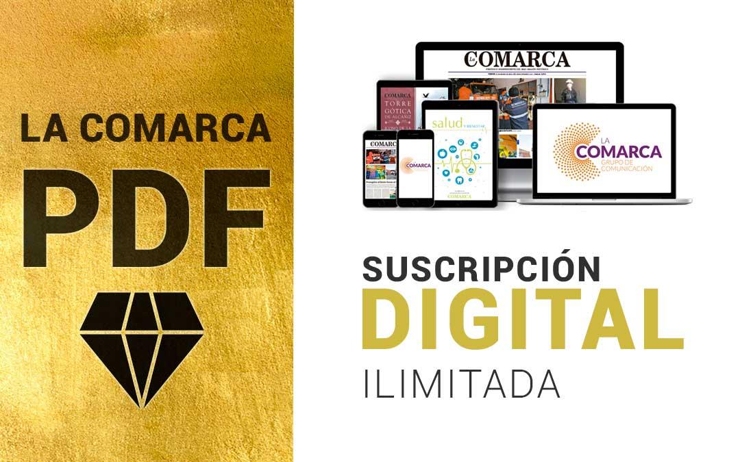 Suscripción digital ilimitada en el periódico La Comarca