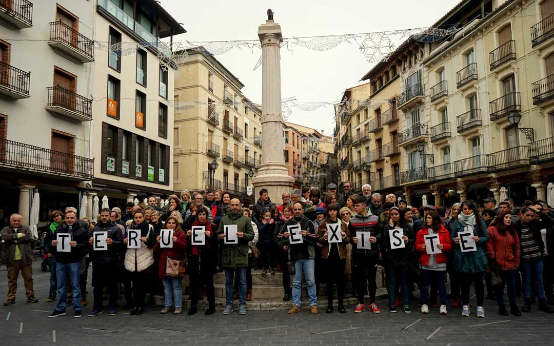 """Teruel Existe está """"orgullosoa"""" de todas las muestras de apoyo y unidad que está demostrando la sociedad española"""