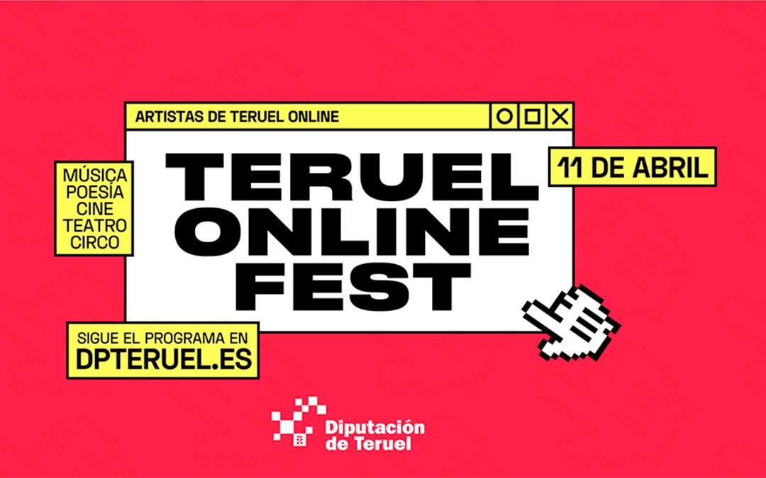 Cartel Teruel ONLINE FEST./ DPT