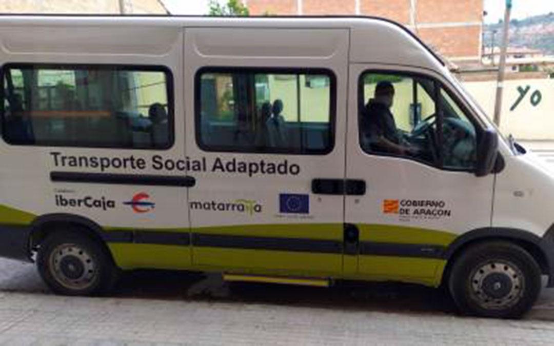 La próxima semana se espera recibir otra remesa de material, que se repartirá por los conductores del transporte social comarca./ Comarca Matarraña
