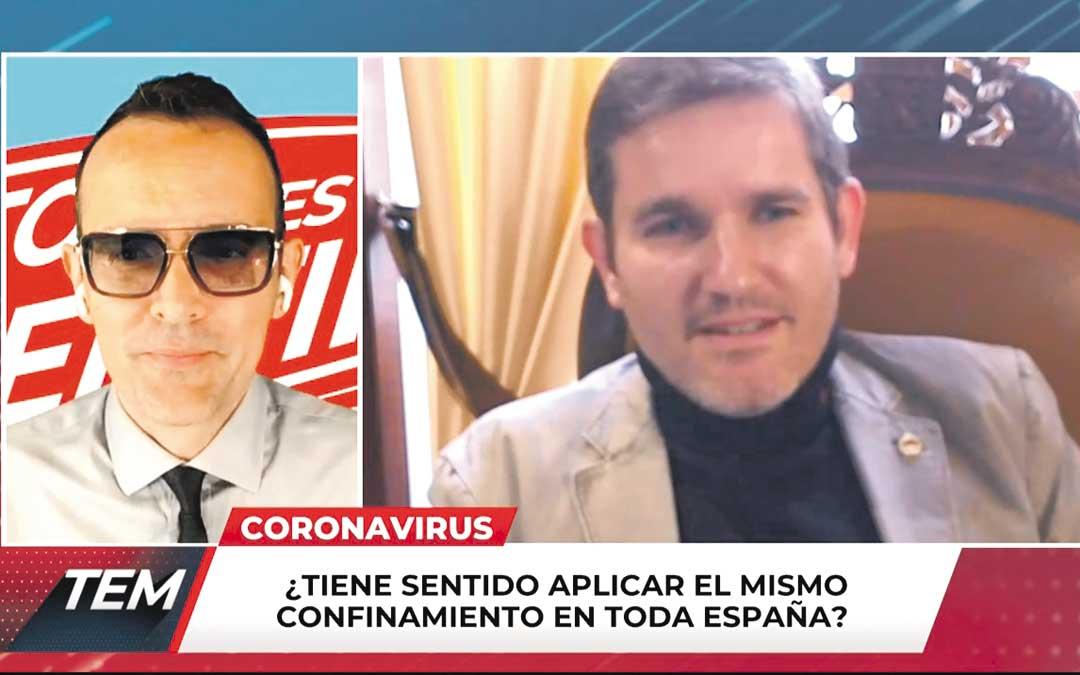 Urquizu intervino el viernes en el programa 'Todo es Mentira', presentado por Risto Mejide en Cuatro