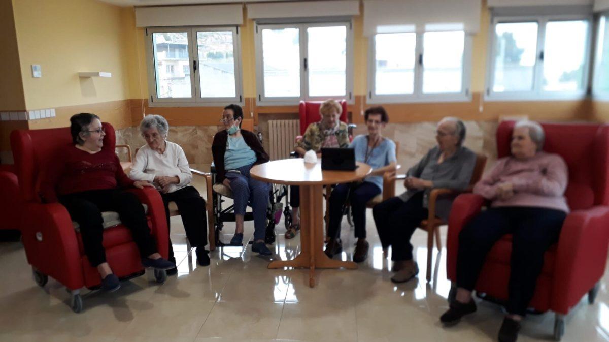 El asilo de Caspe, a la espera de poder recibir visitas con un contagiado por Covid-19
