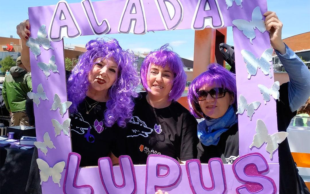 Uno de los actos celebrados por ALADA, asociación de Lupus en Aragón, antes del confinamiento./ ALADA