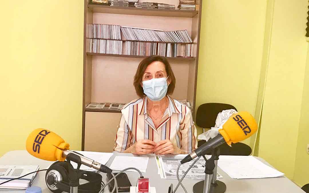 Entrevista a la concejal de servicios sociales del Ayto de Caspe, Alicia Clavería.