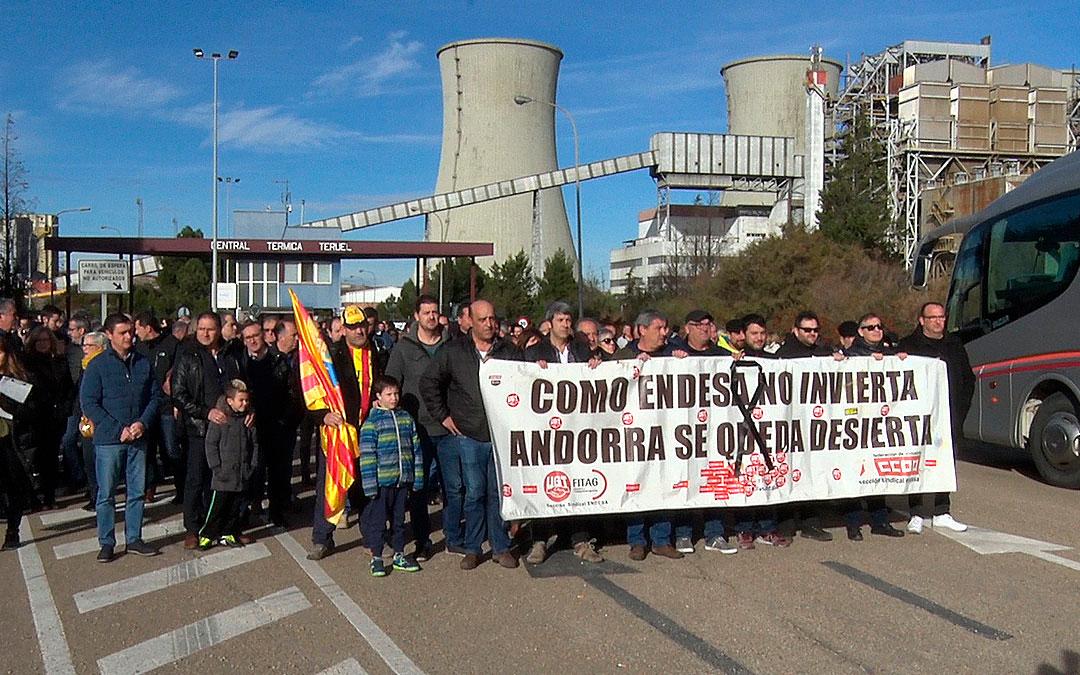 Imagen de archivo de una de las manifestaciones celebradas en la Térmica en 2019