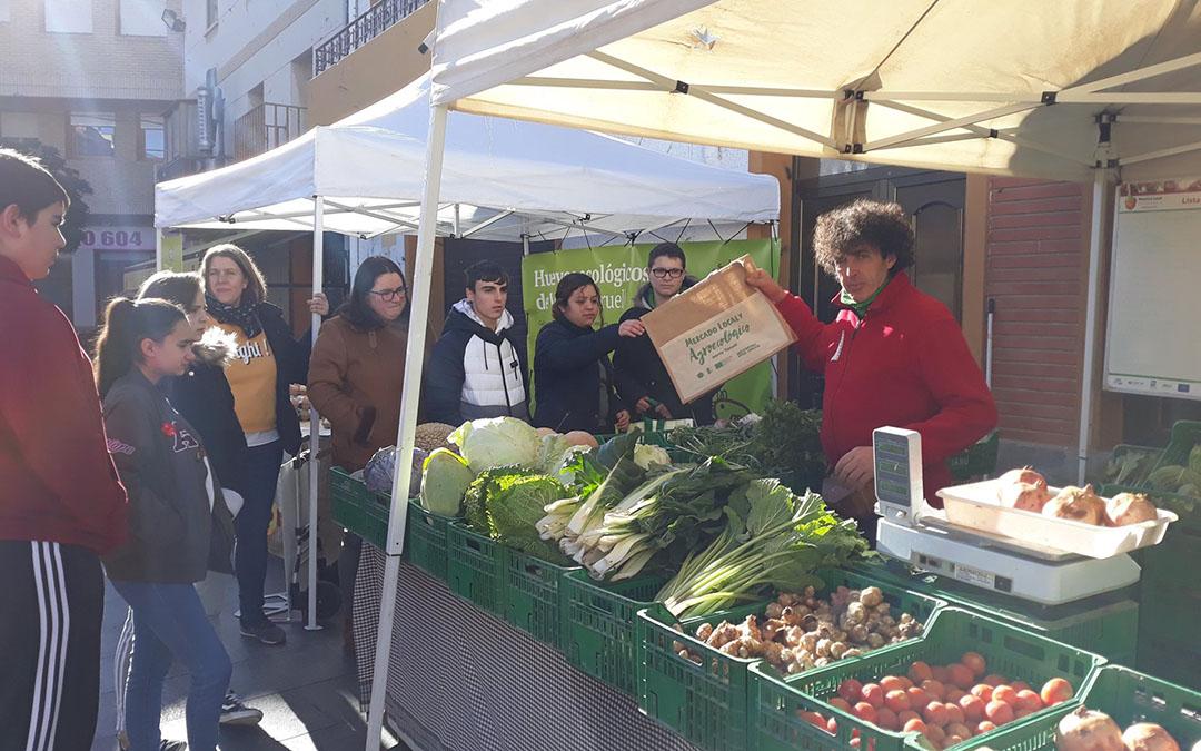 Imagen de archivo del Mercado Agroecológico de Andorra