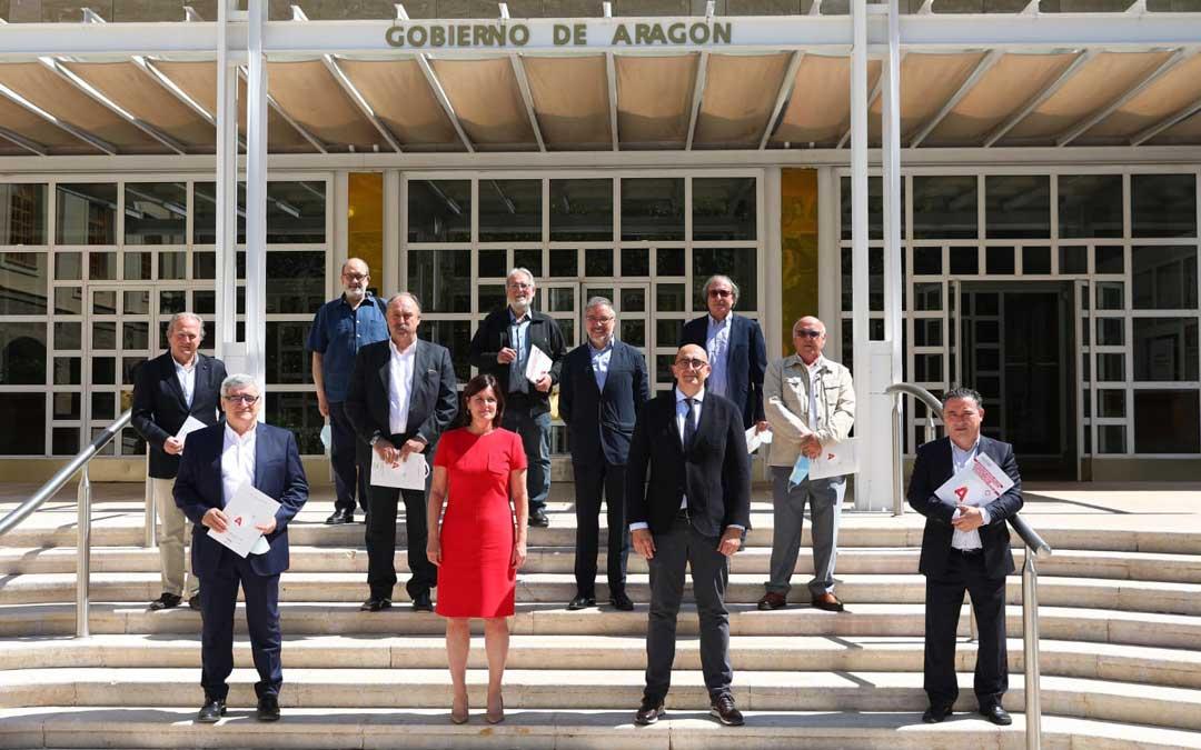Presentación del plan de turismo de DGA con las entidades del sector