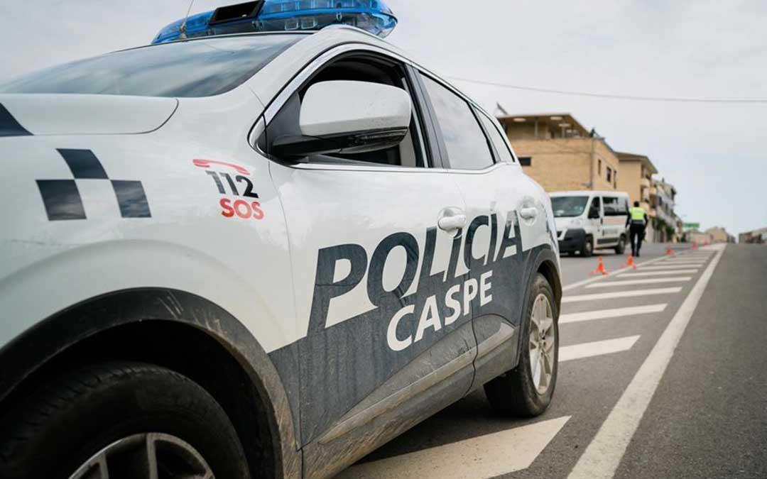 Los agentes detectaron al conductor durante un control el pasado 8 de mayo.
