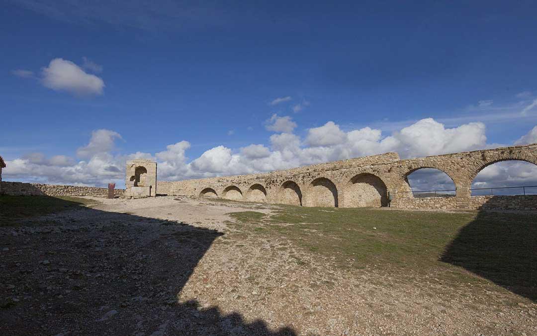 El castillo de la localidad castellonense de Morella