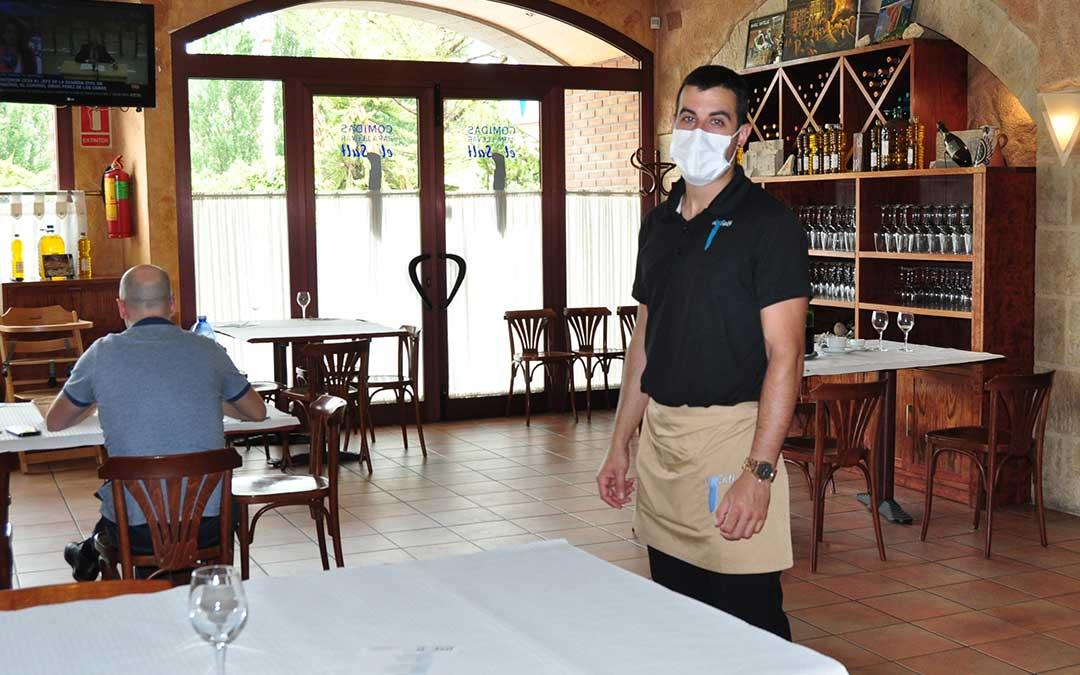 El Hotel Restaurante El Salt de Valderrobres se enfrenta a la nueva normalidad.