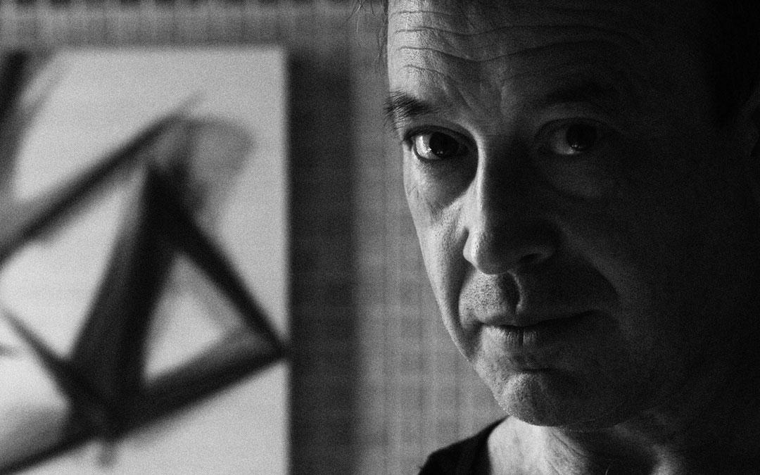 Retrato artístico de Joaquín Escuder. / Archivo personal