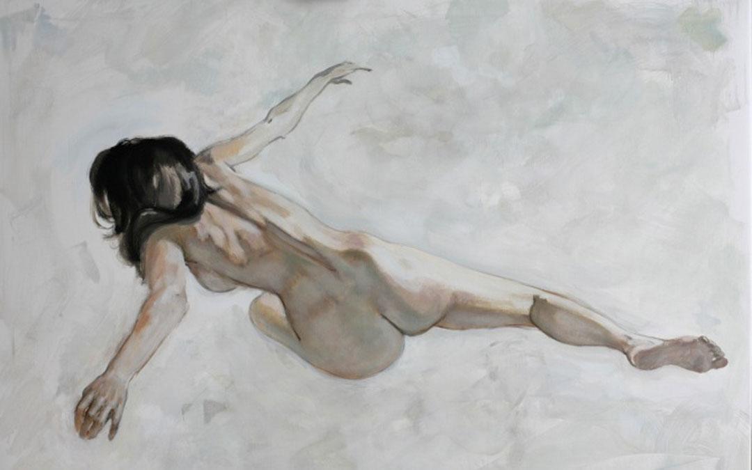 Una de las pinturas de Rubén Vidal