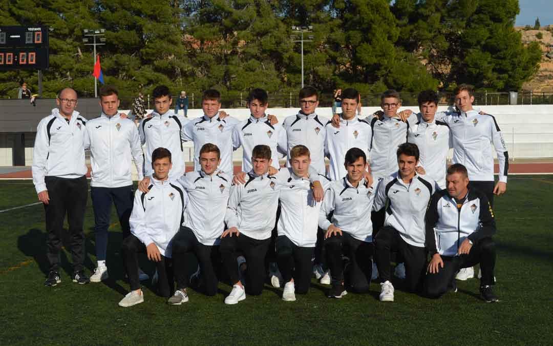 Equipo juvenil B del Alcañiz Club de Fútbolb