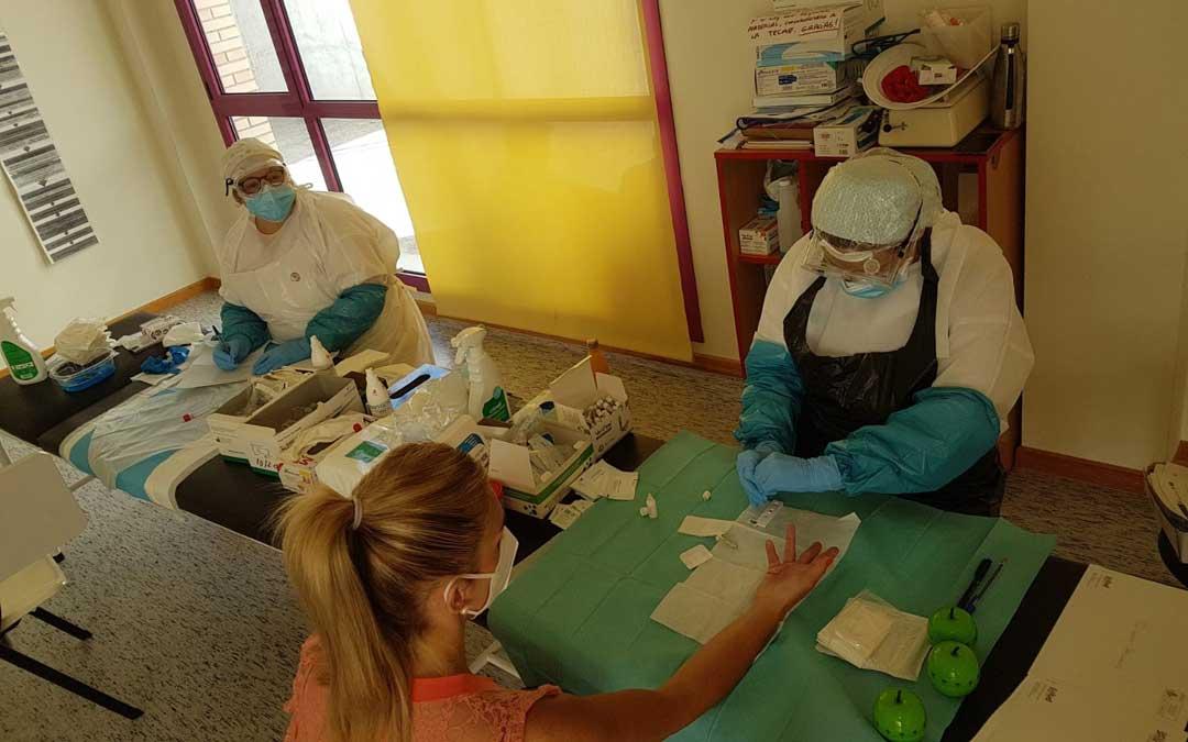 Estudio serológico del coronavirus en Alcañiz / La Comarca