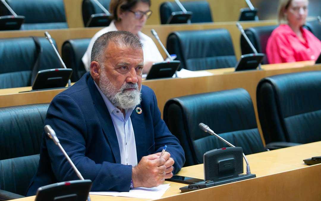 El diputado del PSOE por Teruel Herminio Sancho