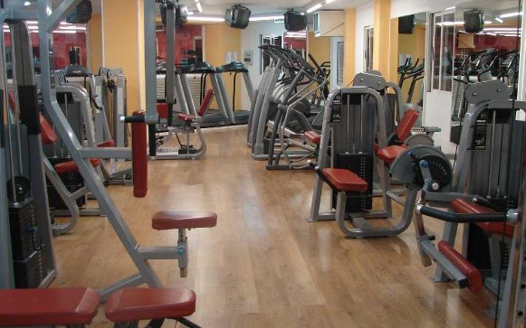 Instalaciones del Gimnasio Premium Fitness de Alcañiz