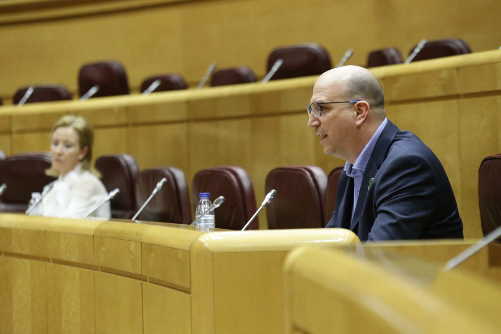 El senador de Teruel Existe Joaquín Egea en el Senado