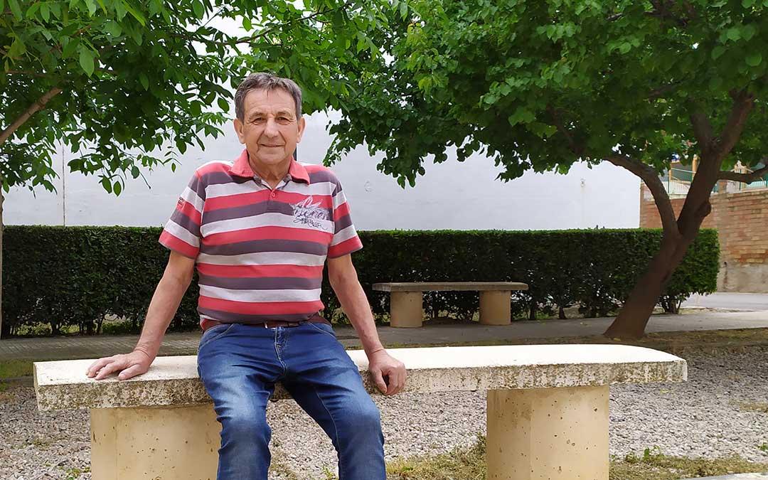 José Luis Mateo, vecino de Alcañiz que ha superado el Covid-19./ Juan Peñalver