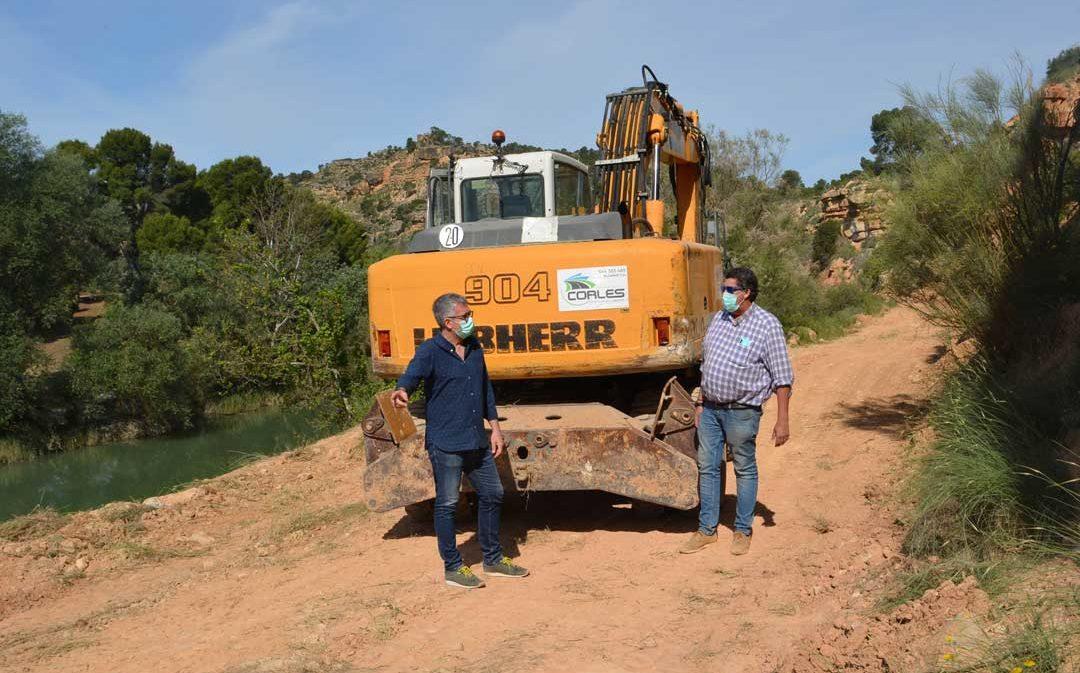 El Ayuntamiento de Alcañiz repara y reabre accesos al Coto y a la Ruta de La Badina