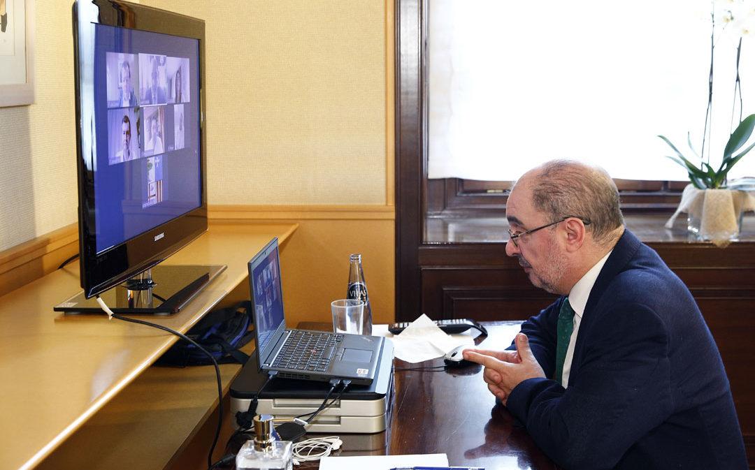 Aragón plantará 731 encinas en recuerdo a las víctimas del covid-19