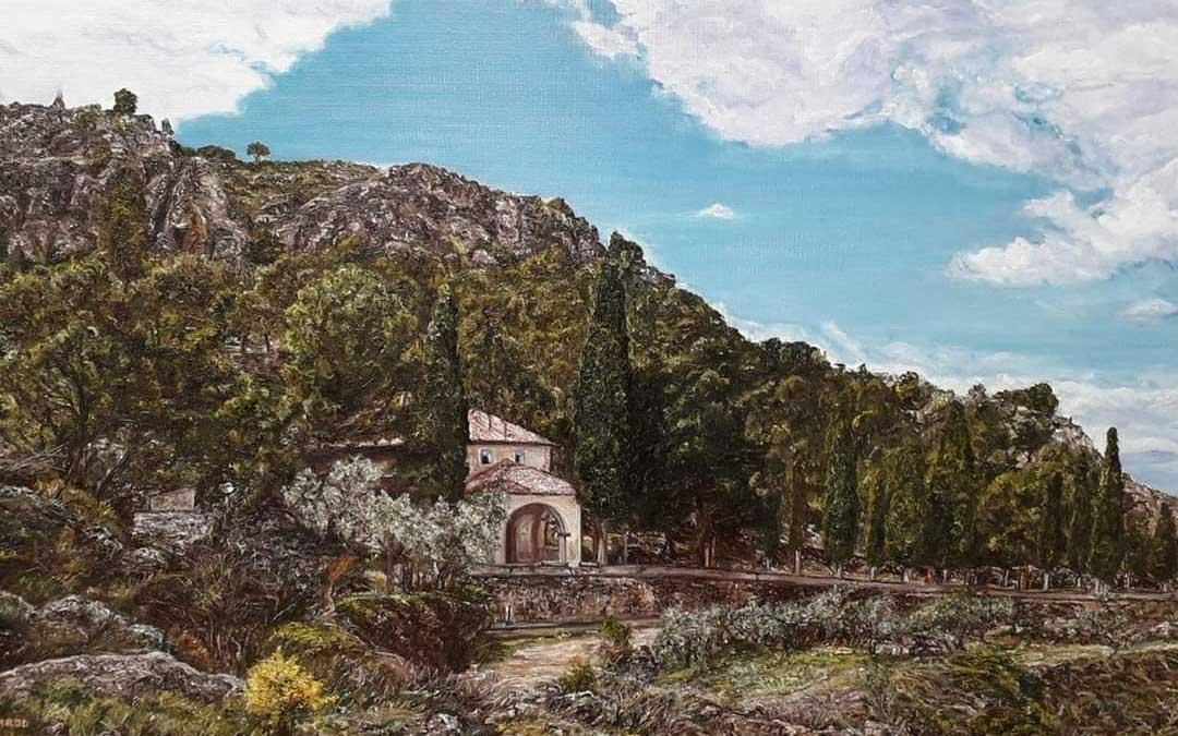 La ermita de la Virgen del Cantal de Oliete obra de Carod. / Archivo personal