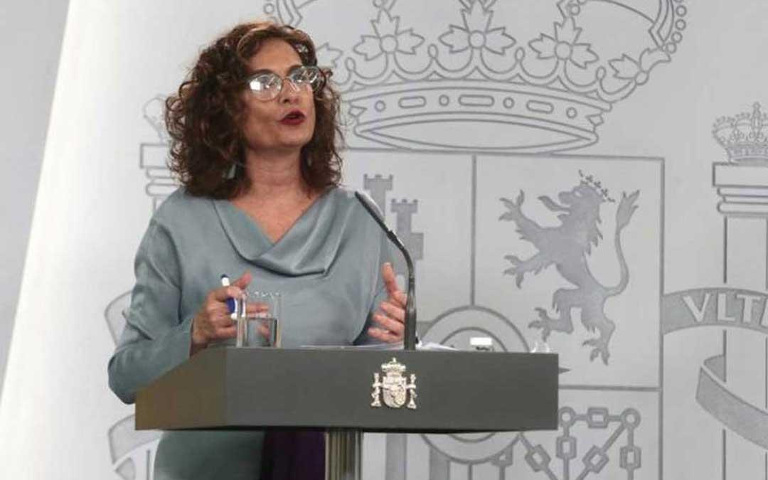 La ministra Montero