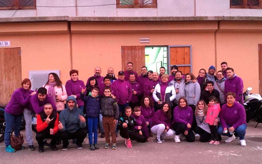 Convivencia del socio del motoclub Panderetas de Alcorisa, celebrada antes del inicio de la pandemia, el 7 de marzo de 2020./ Motoclub Panderetas