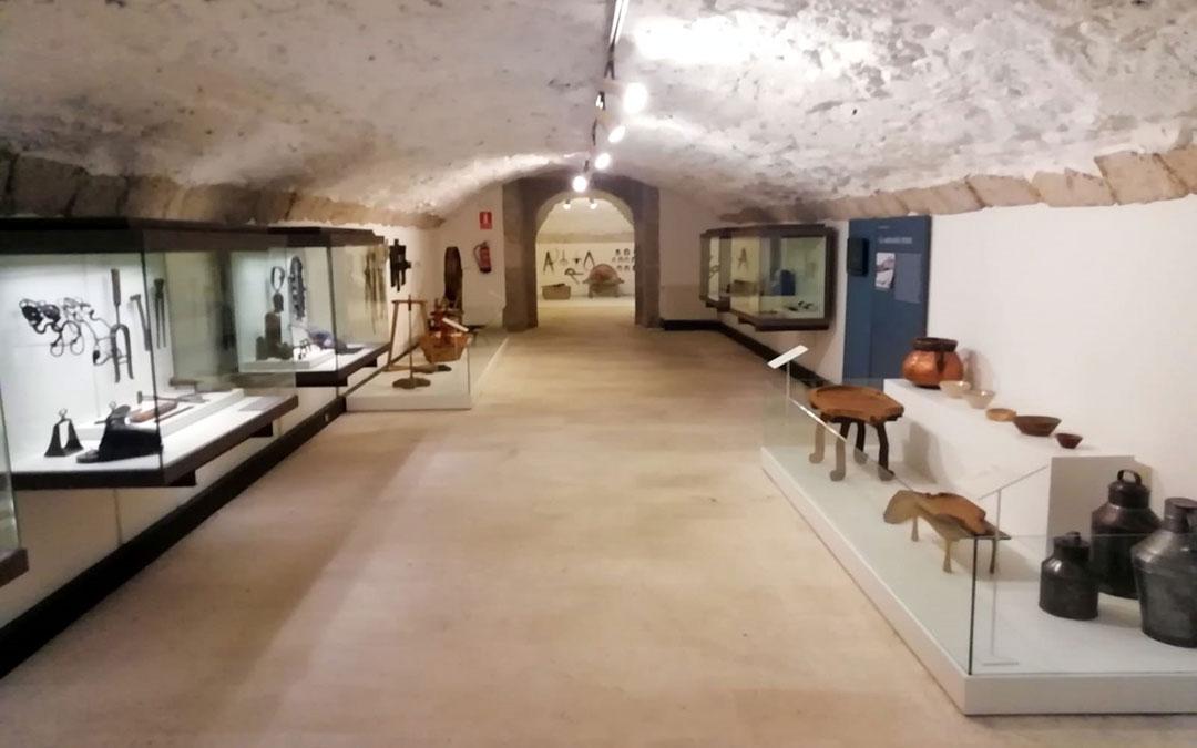 Una de las salas del Museo Provincial de Teruel./ DPT