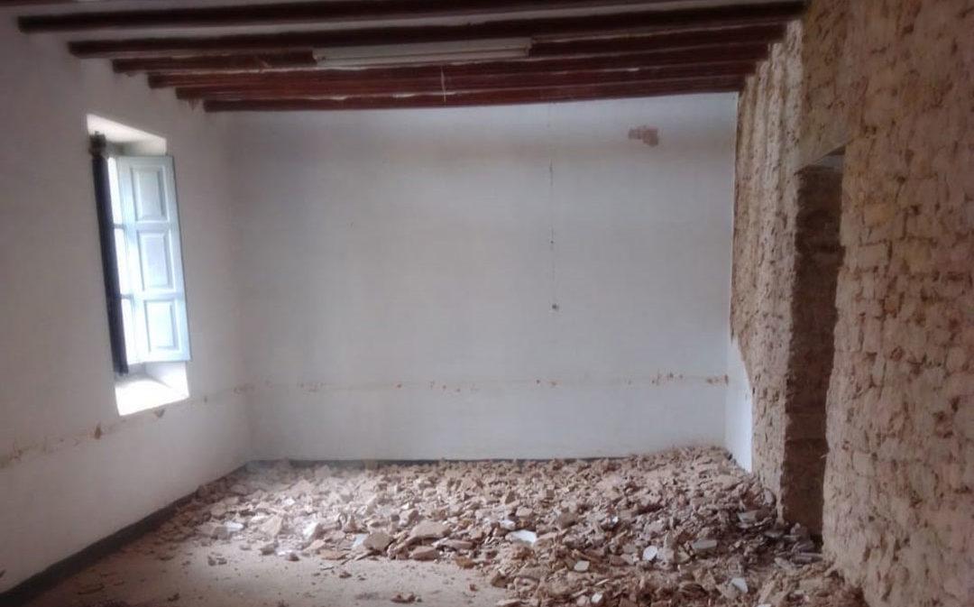 Comienzan las obras de la nueva Aula de Educación Infantil en La Iglesuela