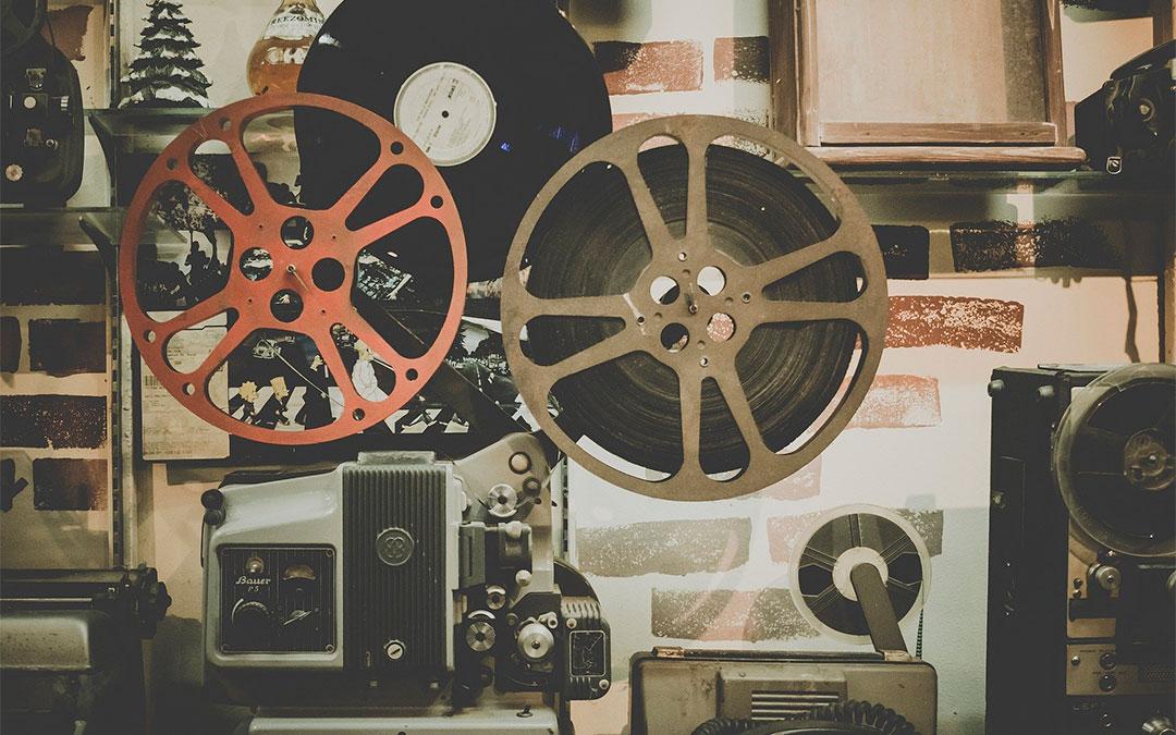 Proyector de cine antiguo./ L.C.