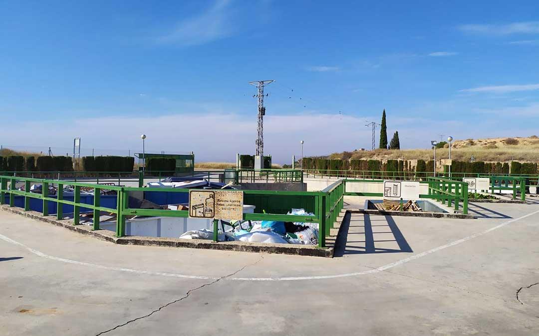 Imagen del punto limpio de Alcañiz./ Consorcio de la Agrupación Nº 7