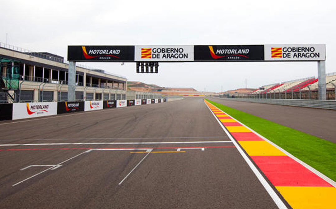 Motorland Aragón reinicia su actividad este fin de semana