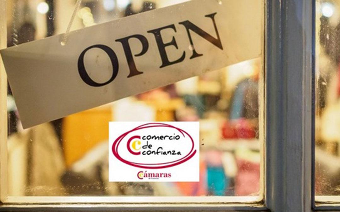 Imagen oficial del 'Sello Comercio de Confianza'./ Cámara de Comercio
