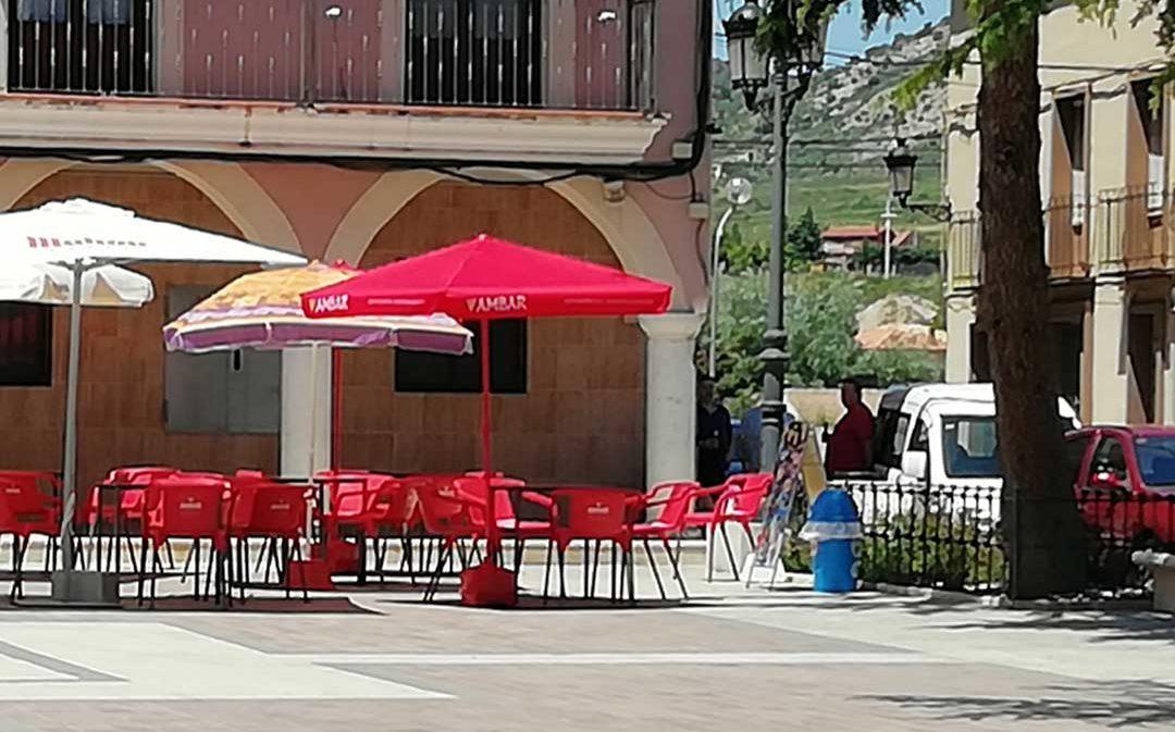 El Ayuntamiento de Utrillas elimina el impuesto de terrazas a los bares durante 2020 y 2021