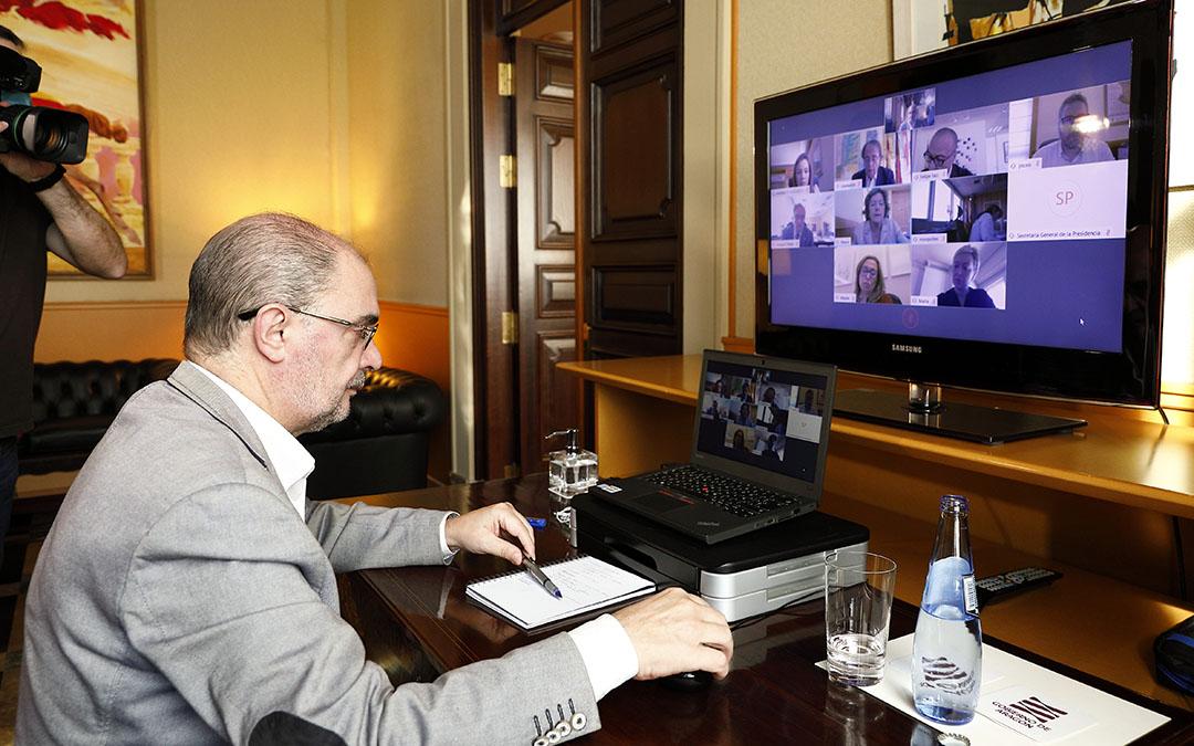 Consejo de Gobierno telemático celebrado este miércoles