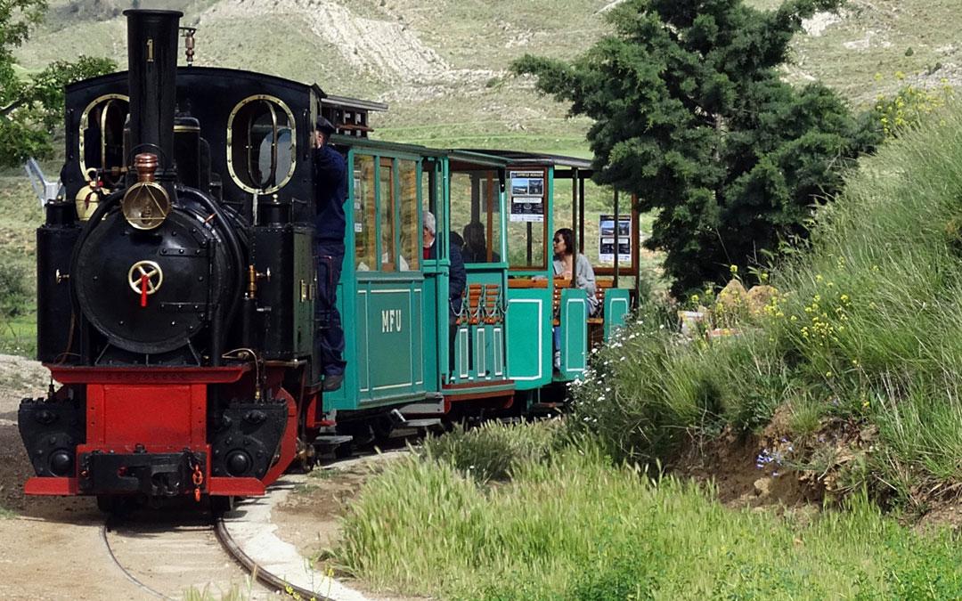 Tren minero de Utrillas./LA COMARCA