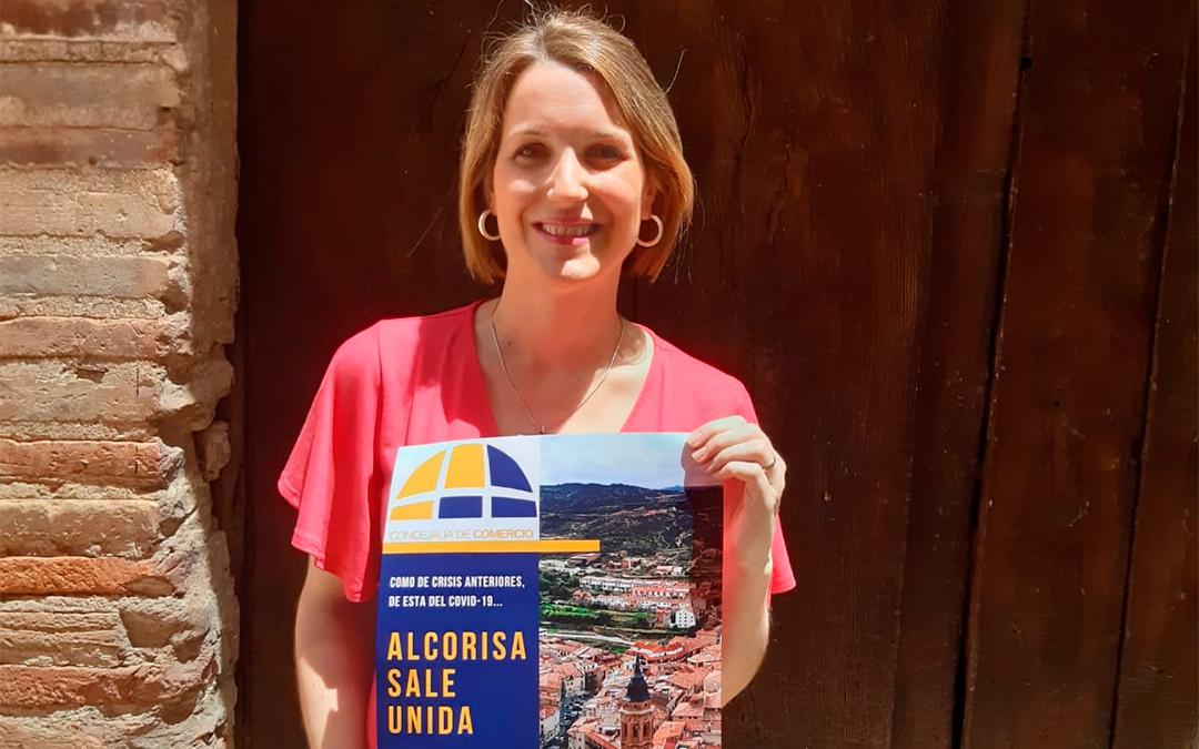 Campaña de comercio denominada #AlcorisaSaleUnida./ Ayto. de Alcorisa