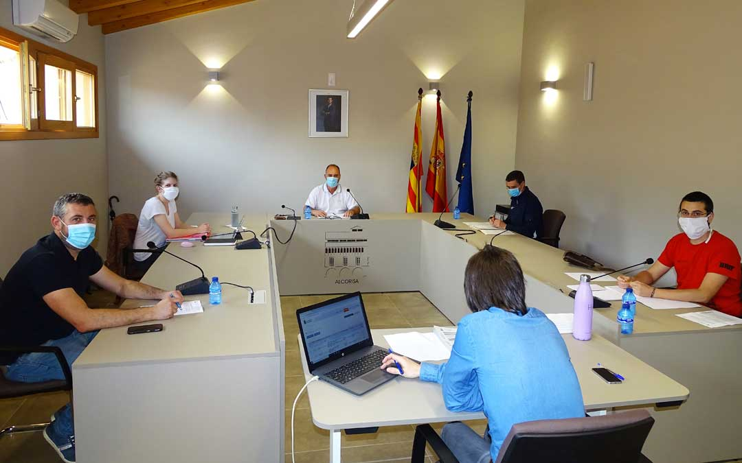 El Ayuntamiento de Alcorisa ha retomado su actividad administrativa y ha celebrado el primer pleno en estado de alarma