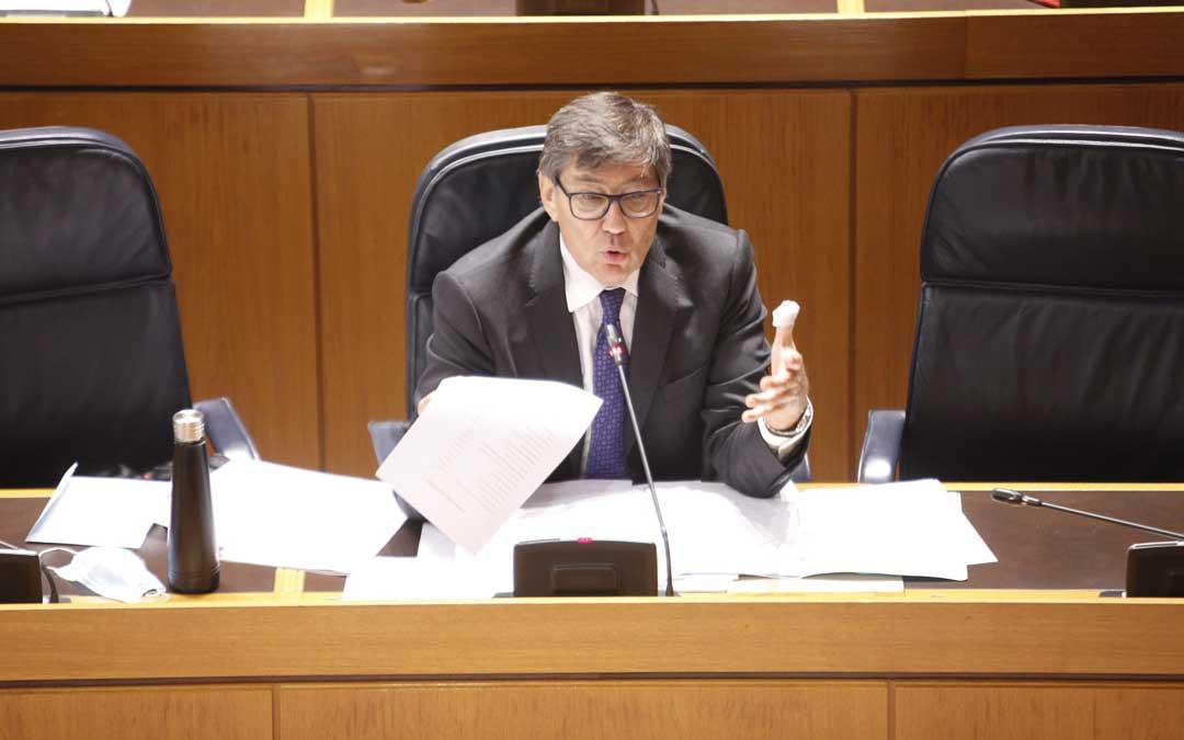 """Aliaga califica de """"inmoral e indecente"""" la actitud de los críticos del PAR en Teruel"""